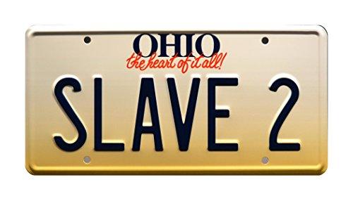 Celebrity Maschinen Fanboys | Star Wars | Boba Fett | Slave 2| Metall Prägung Vanity Prop License Plate