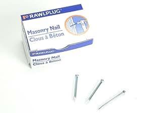 Rawlplug 04 042 Masonry Nails (100) 3.5 X 100mm (100 pieces)