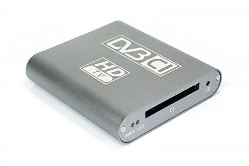 DVBSky T680C V2 USB Box mit 1x DVB-T2/DVB-C Tuner und CI Common Interface Slot für PayTV, Netzteil für 4 Länder (UK/EU/US/AU)