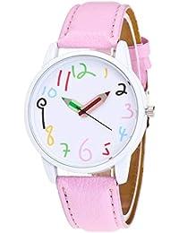 Gysad Reloj de Pulsera Lápiz en Forma de Puntero Reloj de Cuarzo Mujer  Interesante Reloj para 153451f07275