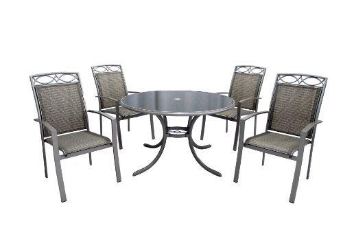 leisuregrow-gold-coast-4-seater-round-armchair-garden-furniture-set