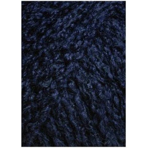 Lang Yarns–CASHMERE Light–Colore: Navy (0025)–25G/circa 85m lana