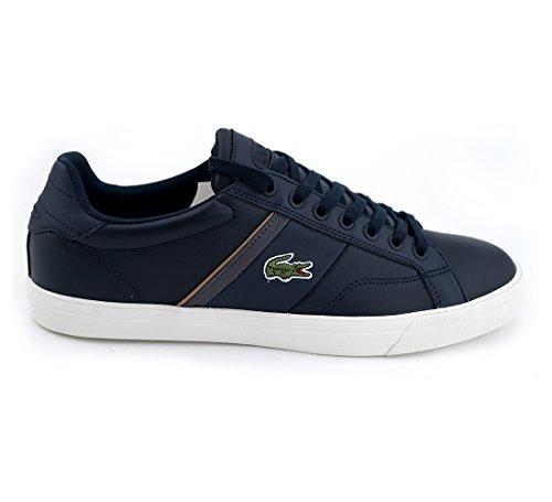 Lacoste, Sneaker uomo, blu (Blau), 45 EU