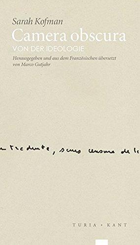 Camera obscura: Von der Ideologie (re.visionen, Band 1)