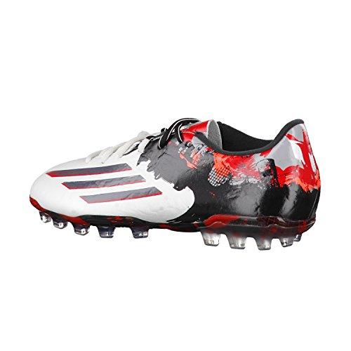 Adidas Fussballschuhe Messi 10.2AG ftwr white/granite/scarlet
