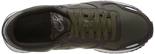 Nike Air Vortex, Sneakers Basses Homme Vert (Cargo Khaki/river Rock-velvet Brown-pure)