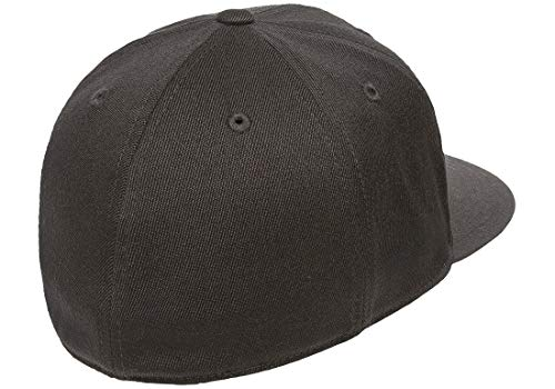 a1b4b6c613d4b Flexfit by Yupoong Mens Premium 210 Premium Wool Fitted Baseball Cap