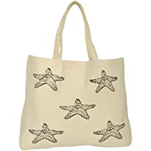 Tee-Tote-Ler Women's Tote Bag (Beige, TEE018)