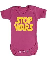 Baby Buddha - Stop Wars Baby Bodysuit 100% Baumwolle