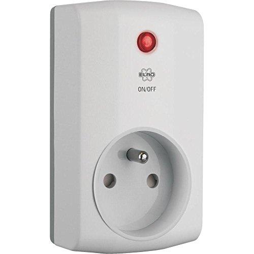 Elro HIS20PSF Funk Steckdosenschalter, bis 1000 Watt