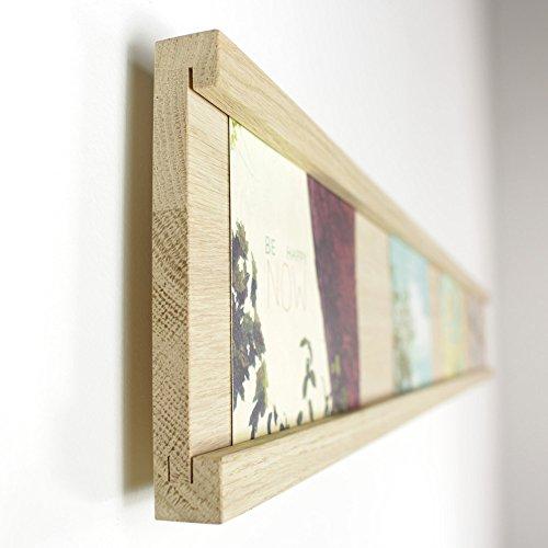 fotoleiste holz Lenz Fotoleiste Eiche, Querformat (10 x 15) - 90 cm