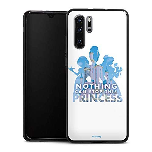 Silikon Hülle kompatibel mit Huawei P30 Pro Case Schutzhülle Disney Princess Prinzessin Spruch