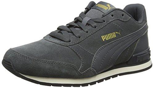 Puma Unisex-Erwachsene St Runner V2 Sd Sneaker, Grau Iron Gate-Whisper White, 44 EU