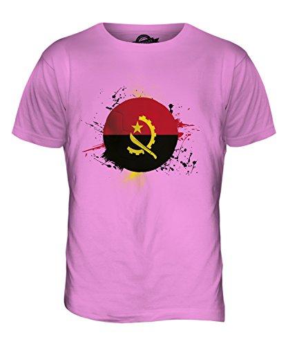 CandyMix Angola Fußball Herren T Shirt Rosa