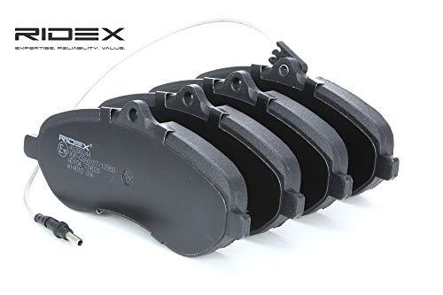 Ridex 402B0244 - Kit pastiglie freno a disco