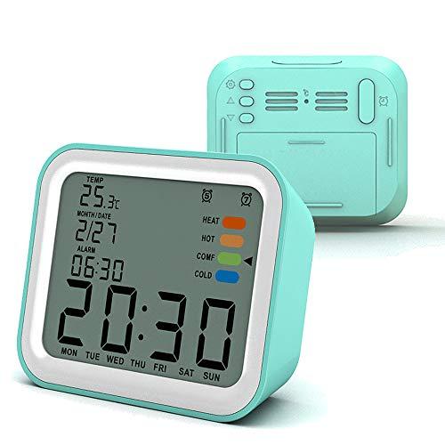 LAOPAO Despertador LED Reloj Despertador Digital Luz