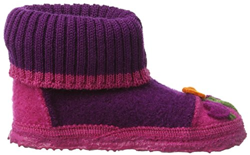 Nanga Flower Pot, Chaussons fille Rose - Pink (Bordeaux / 43)