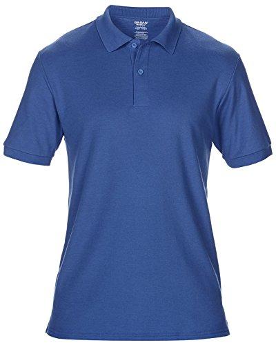 Gildan Dryblend da uomo a doppio Polo in piqué in policotone Sports-Maglietta a maniche corte da donna Royal