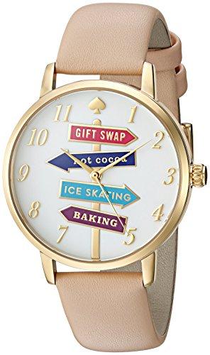 Kate Spade New York donna metro marrone orologio KSW1215