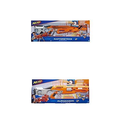 Nerf Weihnachtskalender.Hasbro Nerf C1895eu6 Accustrike Raptorstrike Spielzeugblaster Accustrike Alphahawk Spielzeugblaster