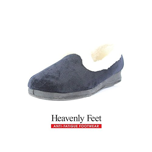 Heavenly Feet , Chaussons pour femme Bleu