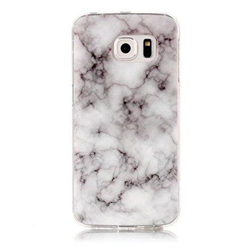 Fubaobao, custodia con design marmo per Huawei P8Lite, materiale poliuretano termoplastico con protezione ultrasottile su tutto il perimetro, verde chiaro F10