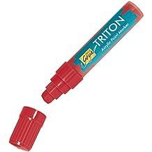 SOLO GOYA TRITON rotulador acrílico carrera - Ancho aprox. 15 mm (No. 179.. ) - varios colores, color granate 15 mm
