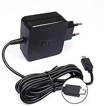 """KFD 33W Adaptador Cargador portátil para Asus EeeBook X205 X205T X205TA E205SA E202SA E202 E205 F205TA 11.6"""" X205TA-DH01 HATM0103, E202SA-FD0076T E200HA-FD0042TS Ordenador portátil de 11.6"""", VivoBook E200HA, Transformer Book Flip TP200SA, AD890526 010DLF AS19175-808 Fuente de alimentación"""