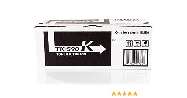 Kyocera Fs C 5250 Dn Tk 590 K 1t02kv0nl0 Original Toner Schwarz 7 000 Seiten Bürobedarf Schreibwaren