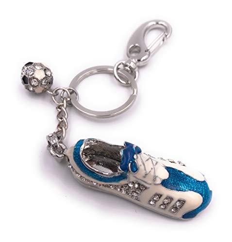 H-Customs Fußball Schuh Sport Blau USB Stick USB 2.0 64GB -