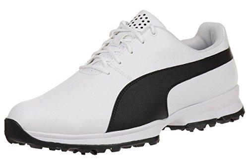 Puma Golf Grip Cleated Men Golfschuhe Golf 188662 01 white, pointure:eur 40