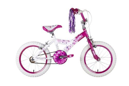 "Sonic Glamour - Bicicleta para niña, tamaño 16"""