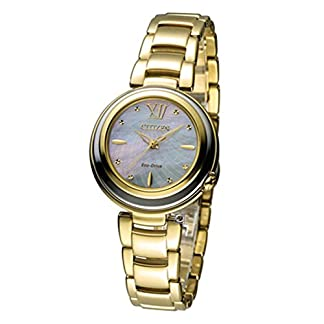 Citizen Analog Mother of Pearl Dial Women's Watch-EM0336-59D
