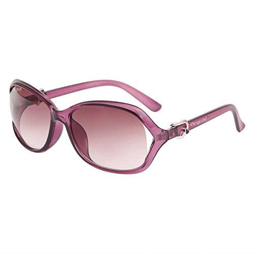 Elegante Oversized Purple Women Sunglasses (OVSZPURPLE|2|Purple)