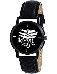 Scarter Mahadev Black Dial Analog Watch For Boys And Men-MH-Black-5