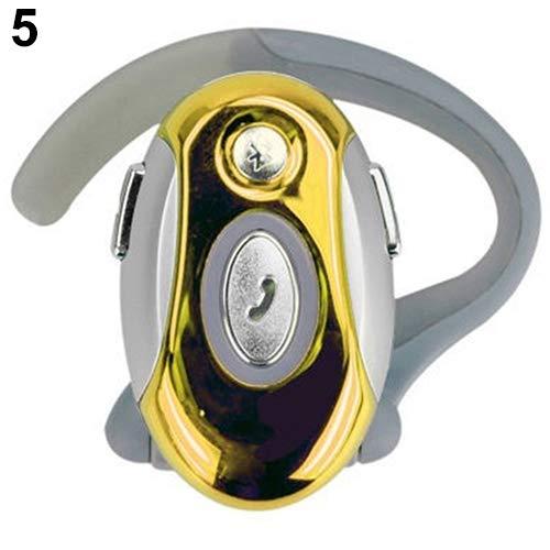 scatkinPYwl Auricolare Sportivo con Auricolare Vivavoce Wireless Bluetooth Universale,Auricolare Vivavoce Universale Senza Fili per Auricolari Bluetooth Gold Beats Wireless