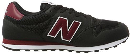 New Balance Herren 500 Sneakers Mehrfarbig (Navy/Red)