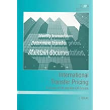 International Transfer Pricing: A Survey of UK and Non-UK Groups
