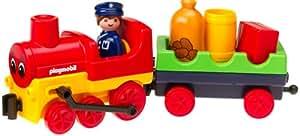 Playmobil - 6734 - 1.2.3 - Conducteur / Locomotive