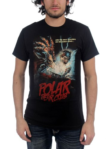 Polar Bear Club - - Herren Walking Dead T-Shirt, Medium, Black (Bear Club-shirt Polar)