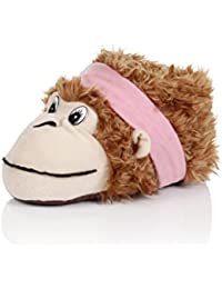 Loungeable Boutique Womens Novelty 3D Animal Slippers