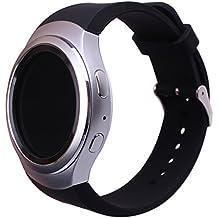 Sundaree Correas Samsung Gear S2, Ralmente Silicona Reemplazo Banda Pulseras de Repuesto Correa de Reloj