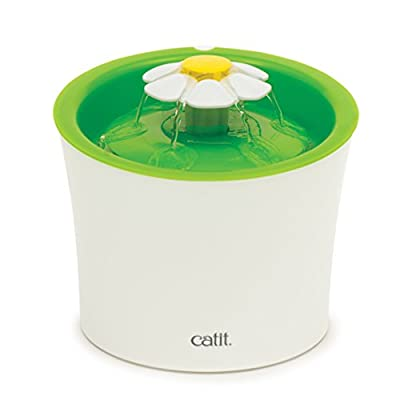 Catit Original Flower Fountain 3 Litre Water Fountain for Cats and Small Dogs