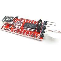 hiletgo 3.3V 5V Ft232rl USB a TTL Cable de descarga para Arduino
