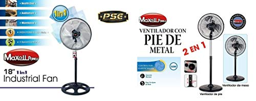 Maxell Power CE Pack Ventiladores 115W 18