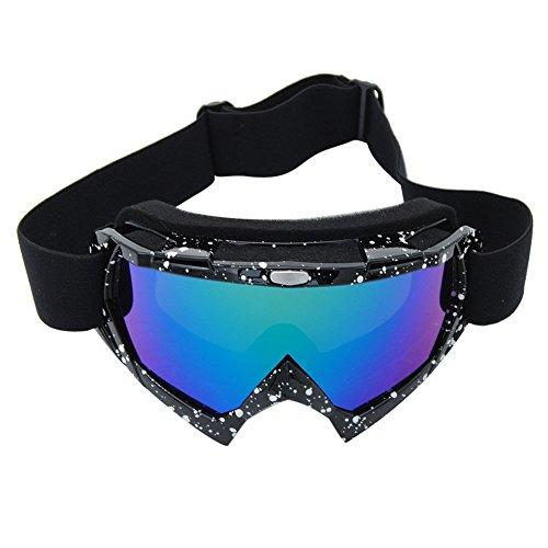 Coface PU UV400 windundurchlässige Kratzfeste Fahrrad Wrap Schutzbrillen Skirennen Schutzbrille Anti-fog für Motocross ATV Fahrräder
