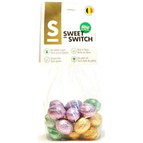 Preisvergleich Produktbild Sweet-Switch Praliné Ostereier Mix,  150g