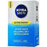 Nivea Men Active Energy Q10 Bálsamo After Shave, Doble Acción - 100 ml