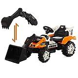 Ayy Children ' s Escavatore Bulldozer Convertibile Escavatore Elettrico Remote Control Engineering Veicolo Grande può sedersi o Cavalcare