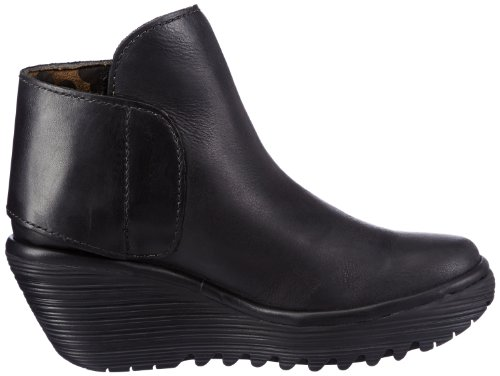 Fly London Yogi, Bottines femme Noir (Black 031)
